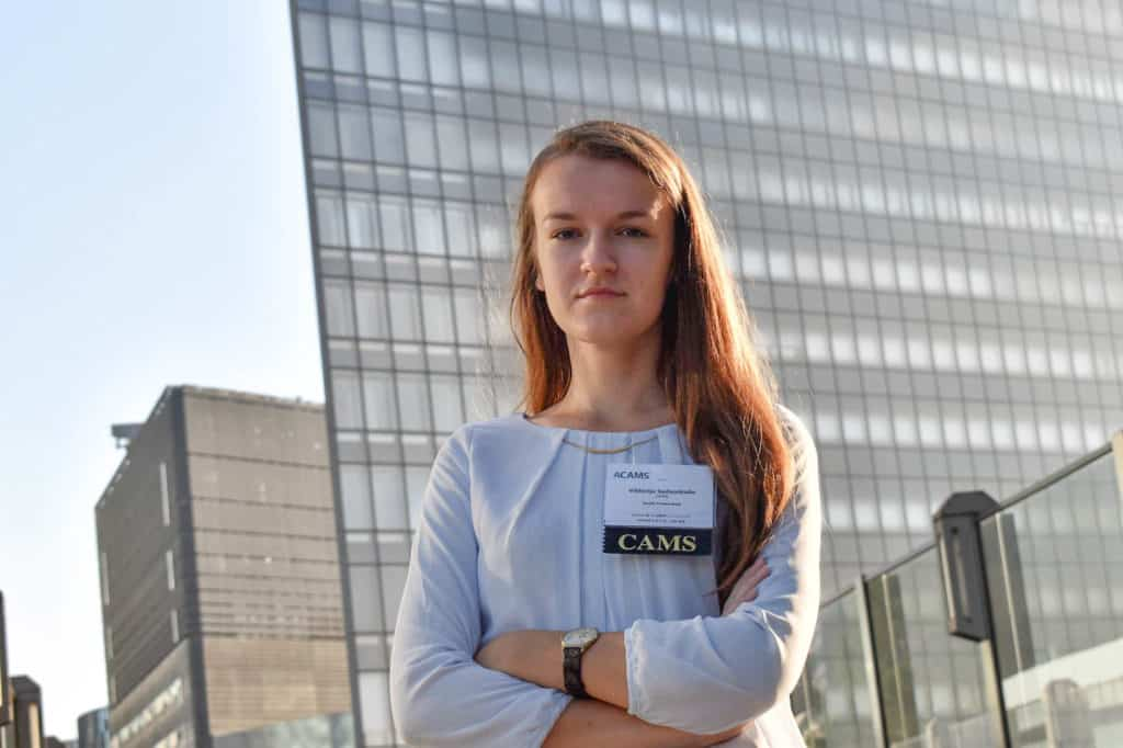 Viktorija at the CAMS Conference in Tokyo
